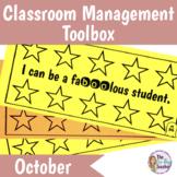 Classroom Management Behavioral System for October