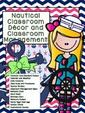 Classroom Management/ Teacher Binders- Nautical