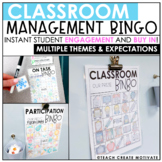 Distance Learning | Classroom Management Bingo | Plan | Game | Digital