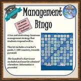 Classroom Management Bingo! - Effective Technique - Grades
