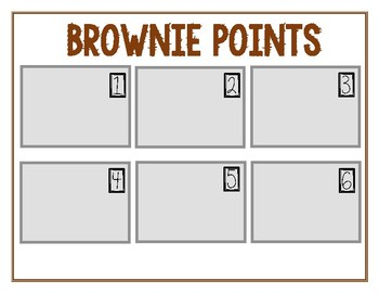Classroom Management: Brownie Points