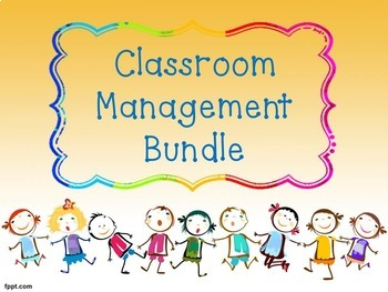 (OVER 50% OFF) Bundle: Classroom Management Resources