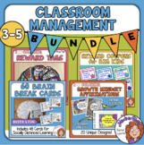 Classroom Management Bundle: Brain Breaks, Reward Coupons,