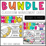 Classroom Management Bundle   Morning Meeting Question of