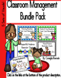 Classroom Management Bundle Pack (5 sets of visuals to sup