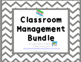 Classroom Management Bundle - Pink & Gray Chevron