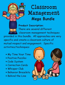 Classroom Management Bundle:  Ready to go strategies and t