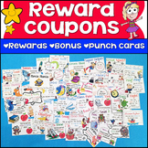 Reward Coupons | Classroom Management | Behavior Punch Cards