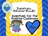 Classroom Management Bundle: Superhero Theme
