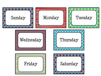 Classroom Management Bundle in Primary Color Theme