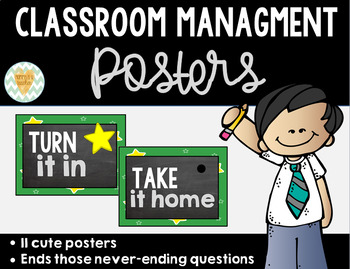 Classroom Management Bundle of Posters