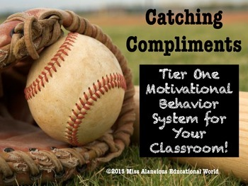 Classroom Management: Catching Compliments!