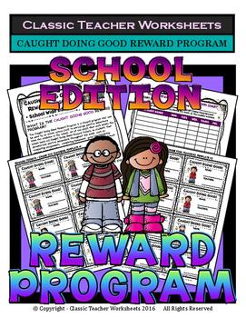 Classroom Management - Caught Doing Good Reward Program -