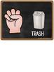 Classroom Management ~ Chalkboard Hand Signals