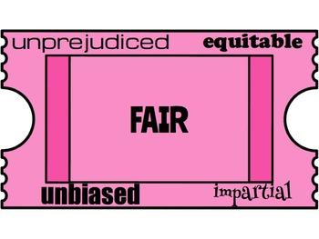 Classroom Management. Character Education: Fairness. Raffles