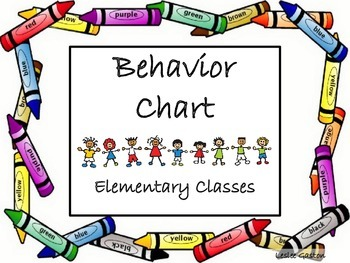 Classroom Behavior Chart!