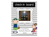 Classroom Management Check-In Board