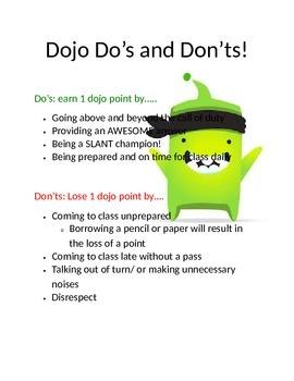 Classroom Management Class Dojo