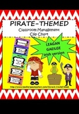 Classroom Management Clip Chart (IN IRISH, AS GAEILGE) - Pirate theme
