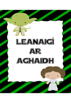 Classroom Management Clip Chart (IN IRISH, AS GAEILGE) - Star Wars theme