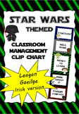 Classroom Management Clip Chart (IN IRISH, AS GAEILGE) - S