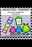 Classroom Management Clip Chart - Monster theme