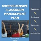 Classroom Management: Classroom Management Plan (Grades 6, 7, 8, 9)
