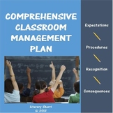 Classroom Management: Classroom Management Plan (Grades 6,