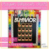 Classroom Management Crayon Bulletin Board
