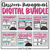 Classroom Management Digital Bundle   Use with Google Slides