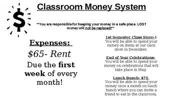 Classroom Management Economy System