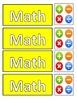 Classroom Management - Editable Visual Timetable