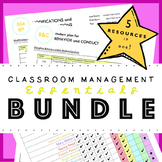 Classroom Management Essentials Bundle