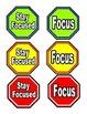 Classroom Management- Focus Signs