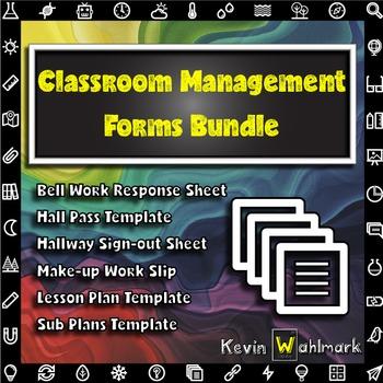 Classroom Management Forms Bundle