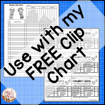 """Classroom Behavior Documents """"Classroom Management Forms"""" (Back to School)"""