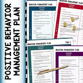 CLASSROOM MANAGEMENT: Positive Behavior Management Plan