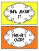 Classroom Management Free Printable Behavior Chart