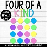 Classroom Management Game ALL Year - Four of a Kind