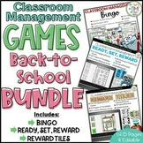 Classroom Management Games Back to School BUNDLE | Plan | Rewards
