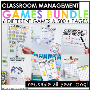 Classroom Management Games Bundle