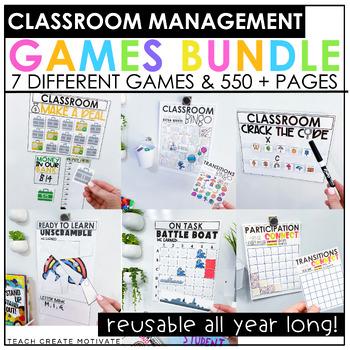 Classroom Management Games Bundle