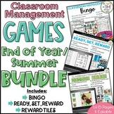 Classroom Management Games End of Year Summer BUNDLE | Plan | Rewards