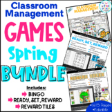 Classroom Management Games Spring Bundle | Plan | Rewards