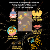 """Classroom Management - Give Me Flying High Five"""" Mini-card"""