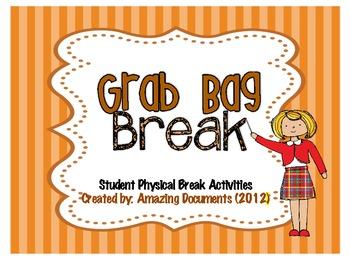 Classroom Management - Grab Bag Breaks
