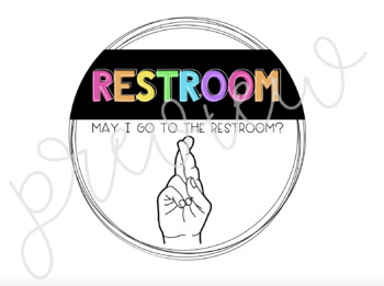 Classroom Management: Hand Signal Posters