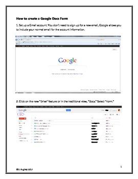 Free Classroom Management: How to Make a Google Docs Form