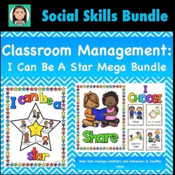 Managing Emotions, Social Skills & Problem Solving Bundle