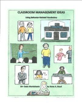 Classroom Management Ideas Using Behavior-Related Vocabulary